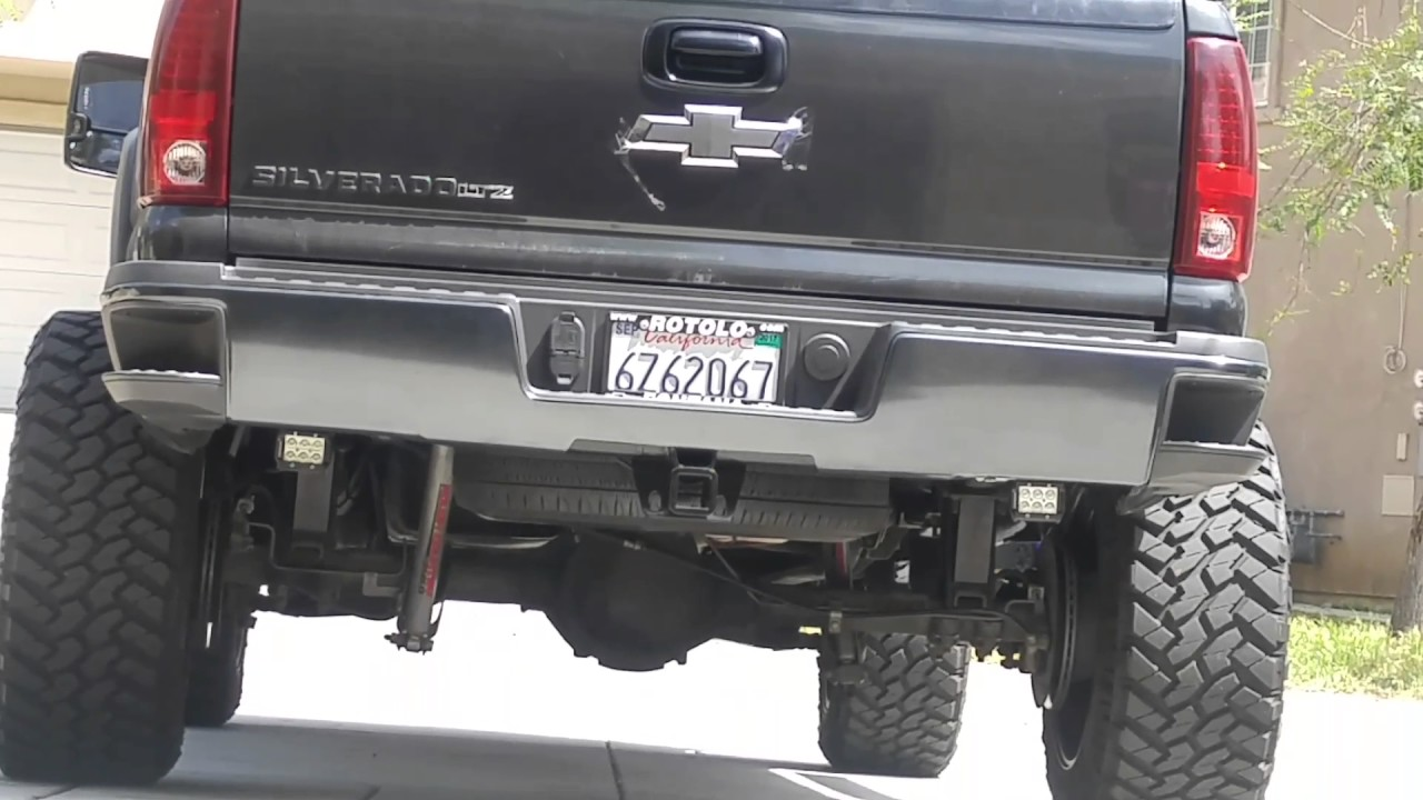 All Chevy black chevy emblems : Black Chevy Emblem installed - YouTube