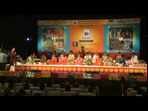 "2014 - Saint Thyagaraja's ""Divine Melody of 5 Gems"" - A symphony by 26 stars of Karnataka"