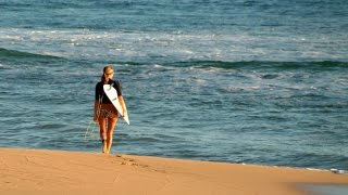 Серфинг на Бали. Первый урок. Что из этого вышло - смотрите сами=) Shtafun video