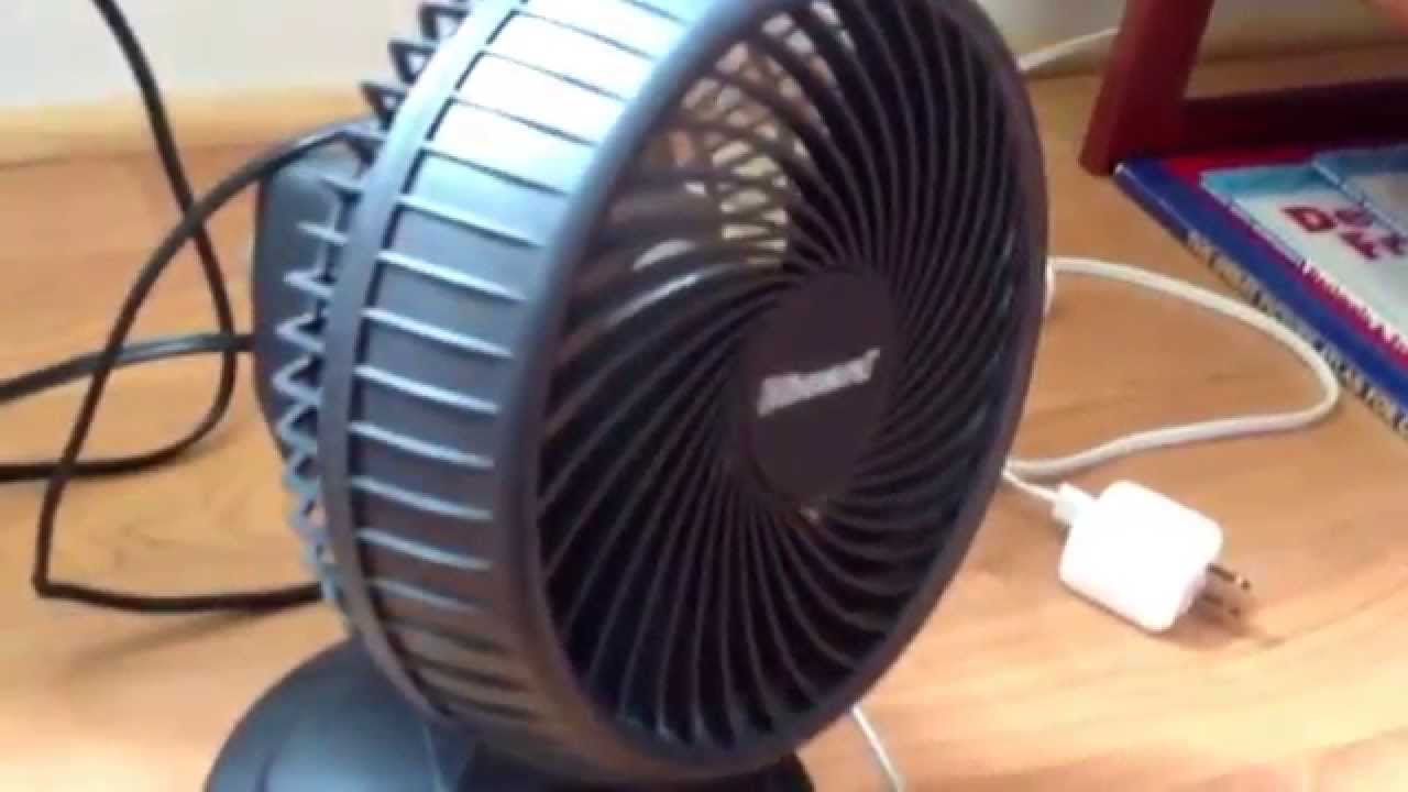 Holmes Blizzard Desk Fan   YouTube