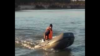 Лодка АмфиБалт АБ-320м с мотором 9.8