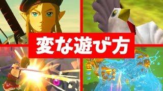 The Legend of Zelda funny moments.JPN
