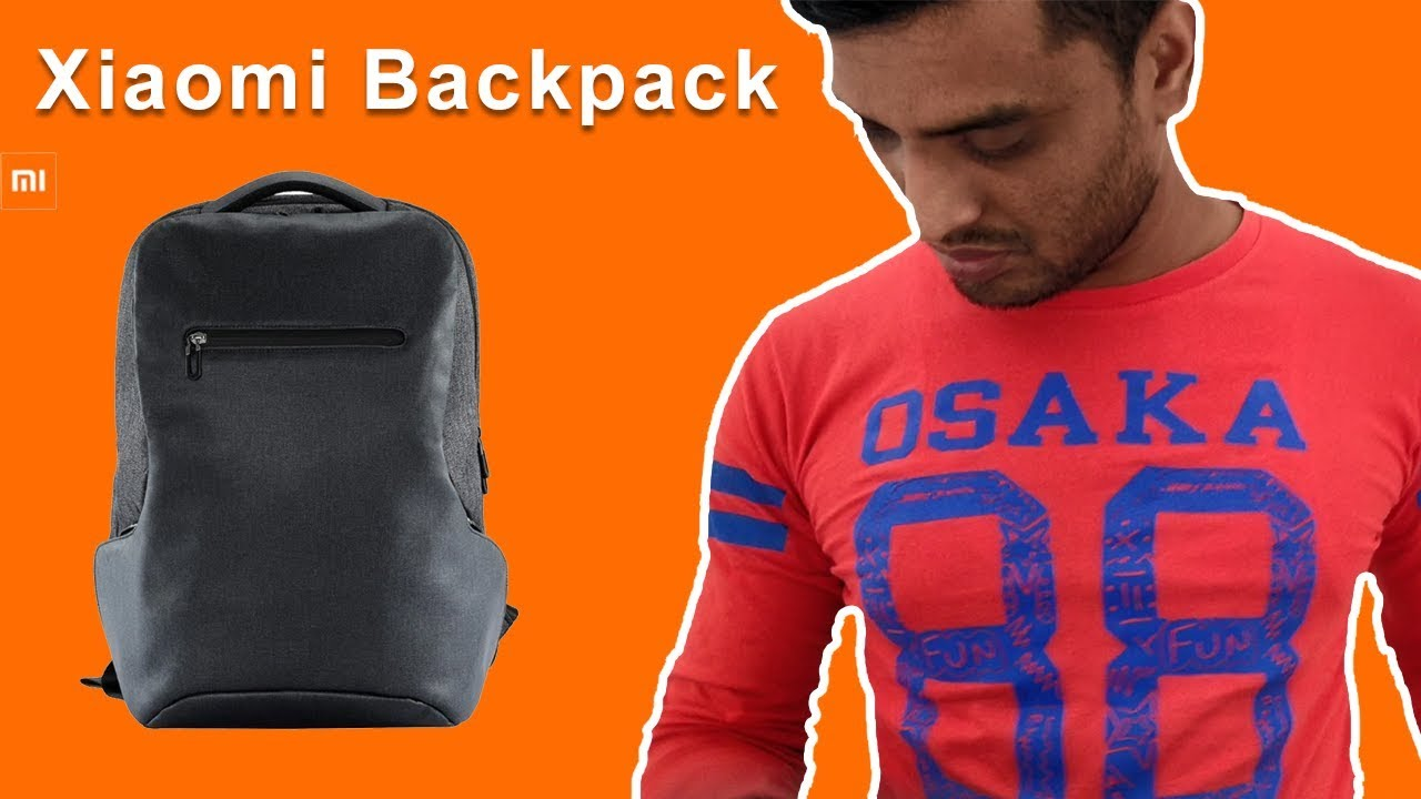 Xiaomi Business Multifunctional Backpack Unboxing Review Bangla