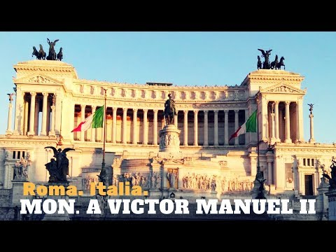 Spectacular! Monument to Vittorio Emanuele II. | One of the great monuments of Rome. Italy.