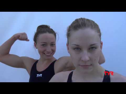 World Record Holder and Gold Medalist Ariana Kukors - TYR - Presented by ProSwimwear