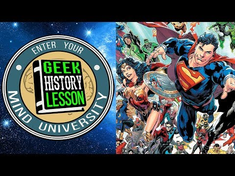 5 DC Comic Book Characters That Deserve TV Shows - Geek History Lesson