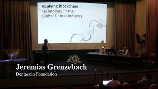 Jeremias Grenzebach, Dentacoin at the 11th Digital Economy and Blockchain Technology Conference