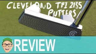 CLEVELAND TFI 2135 SATIN PUTTERS