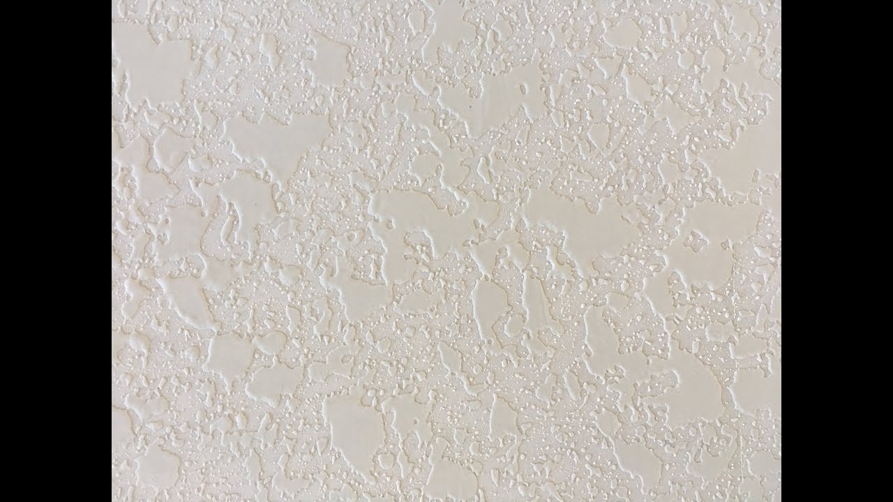 How To Spray Drywall Knockdown Texture Do It Yourself Youtube