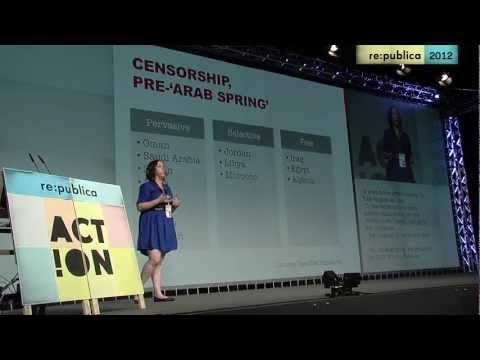 re:publica 2012 - Jillian C. York - Threats to Free Expression in the Middle East and North Africa on YouTube