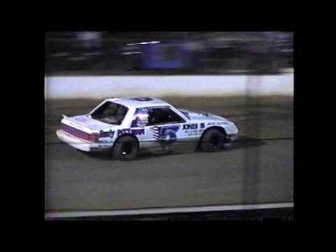 County Line Raceway Modified 4 feature 6-21-97