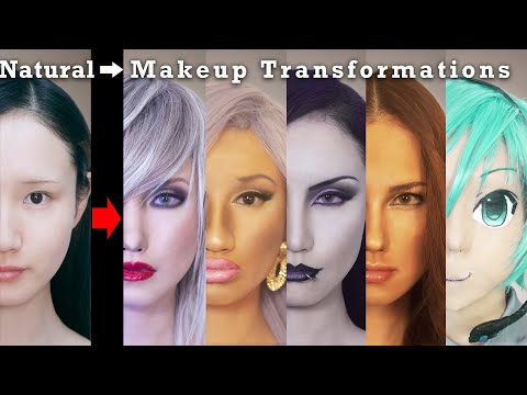 The 2010s Music Genres World Makeup And Fashion 5 Transformations | AmaterasuEVE