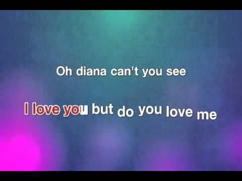 Diana - Paul Anka [karaoke]