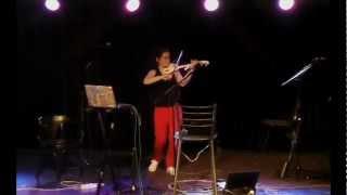 Electric Violin improvisation  (A.Rakita)