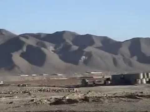 Taliban Mortar attack on US base In Afghanistan