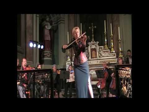 Thierry Huillet La Noche porteña for violin and orchestra live by Clara Cernat and OCT
