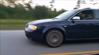 Dig and Roll Race Battle! 2003 Audi RS6 & 1999 Mustang Cobra