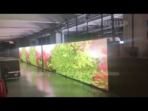 P5 SMD2727 Outdoor LED Display 55㎡ Aging Exported to Vietnam