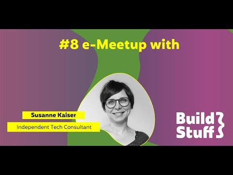 #8 e-Meetup | Susanne Kaiser - Designing a Serverless Application with Domain Driven Design