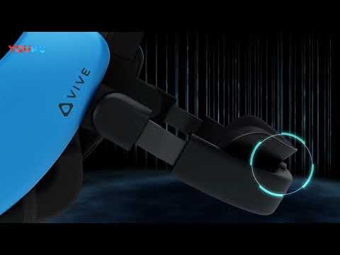 Первый взгляд на HTC Vive Focus - автономную VR гарнитуру