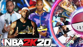 NBA 2K20 Wheel of Basketball Shoes