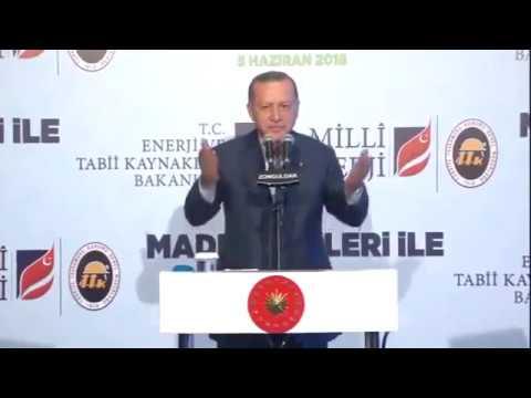 Tayyip Erdoğan Gaf: Sevgili zonduldak, zonduklan, zoonk hee niye böyle oldu