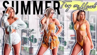 SUMMER PARTY &  TRY-ON HAUL   2019