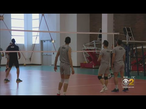 Iranian Volleyball Team Held For Hours At O'Hare - YouTube
