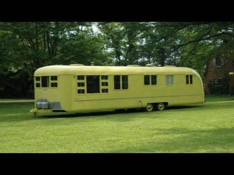 No One Has Touched This Strange Old Camper Since The 1950s For A Very Good Reason
