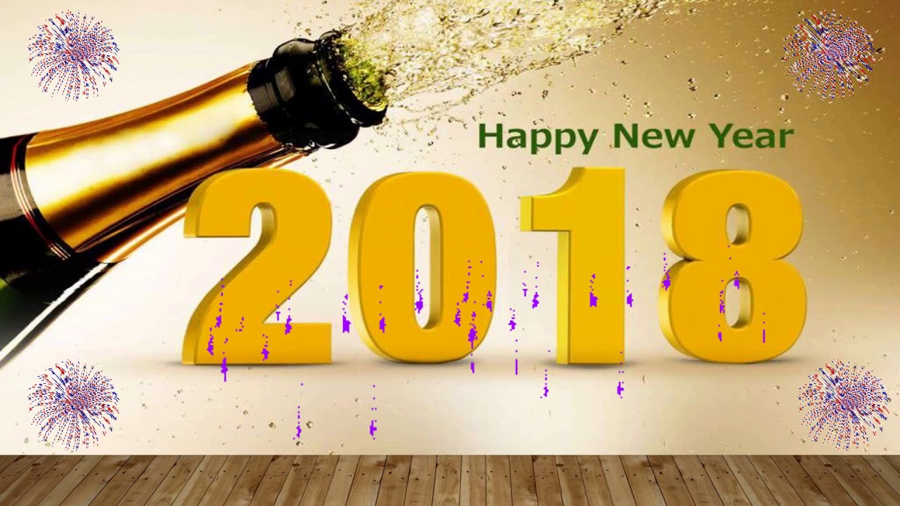 happy new year 2018 wishes video downloadwhatsapp videosongcountdown wallpaperanimation