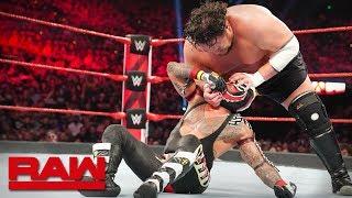 Rey Mysterio vs. Samoa Joe: Raw, April 29, 2019