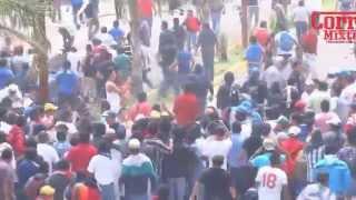 Desalojo INE Huajuapan de León Oaxaca (1-2)