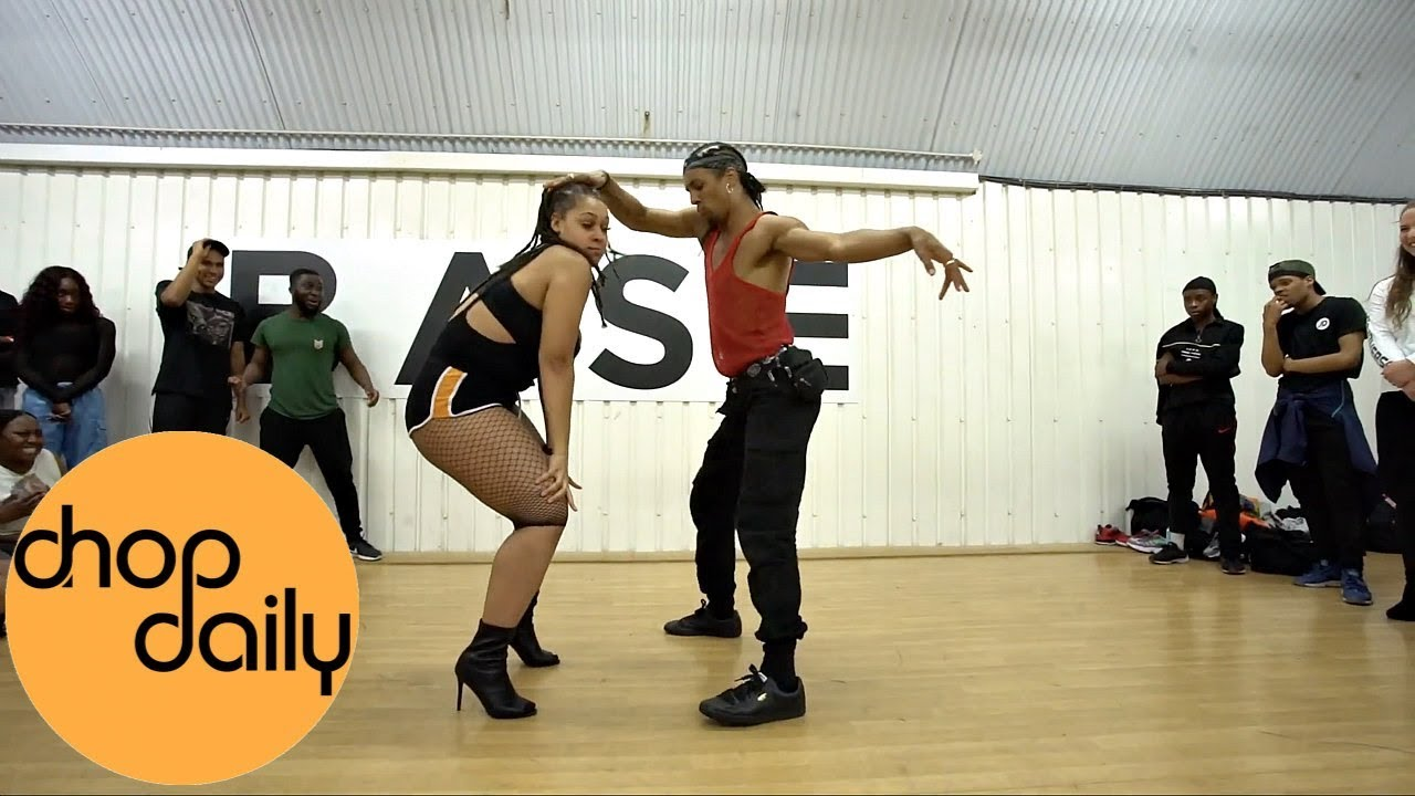 K Adu - Roll It Up (Afro In Heels Dance Video) | Patience J Choreography | Chop Daily