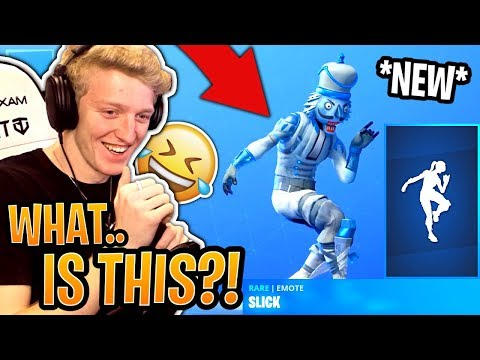 Tfue Reacts to *NEW* Slick Emote & BUYS His *OG* Batsickle Pickaxe Back! - Fortnite Moments