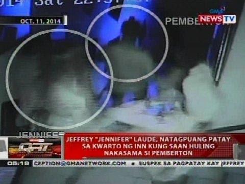Jeffrey 'Jennifer' Laude, natagpuang patay sa kwarto ng inn kung saan huling nakasama si Pemberton