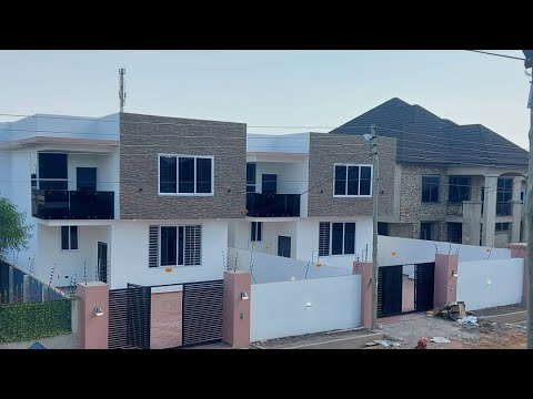Beautiful 4bedroom with outhouse making 5bedroom for sale in Accra Ghana || Real Estate leads