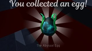 The Abyssal Egg ROBLOX Egg Hunt 2017 Tutorial