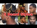 5 Different Ways to Style your Beard For Men