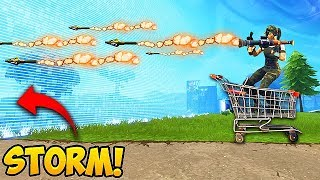 *NEW* GET OUT OF STORM FAST TRICK! - Fortnite Funny Fails and WTF Moments! #215 (Daily Moments)