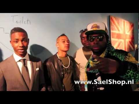 Rotterdam Airlines Music Group at the launch of Sael Shop