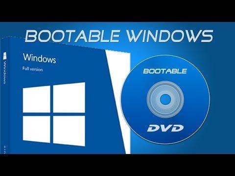 How To Make Windows 7,8,8.1,10 Bootable DVD Using Nero