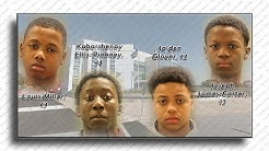 Four Delaware boys, ages 12 to 14, Charged in Kidnapping & RAPE of a girl!