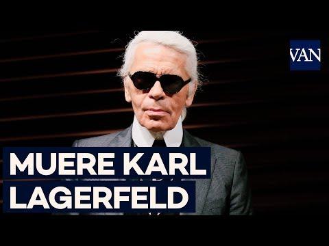 Muere el diseñador  Karl Lagerfeld