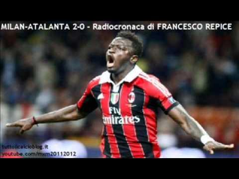 MILAN-ATALANTA 2-0 – Radiocronaca di Francesco Repice (2/5/2012) Tutto il calcio minuto per minuto