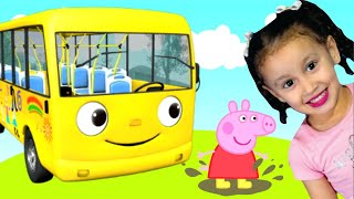 As Rodas do Ônibus!   Clássico Infantil   The Wheels On The Bus    Música Infantil