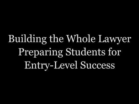 Building the Whole Lawyer