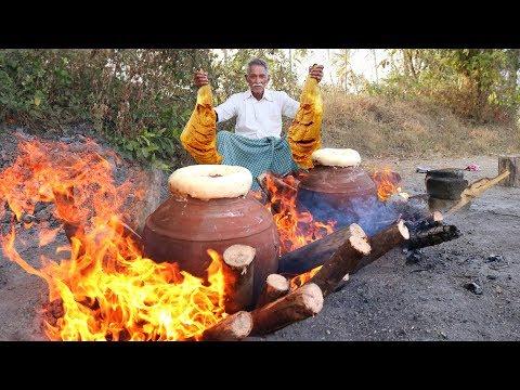 Traditional Pot Mutton Biryani | Traditional cooking Lamb Biryani | Matka Biryani By Grandpa Kitchen