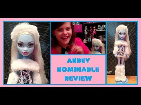 Monster High Abbey Bominable Doll Review!