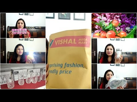 इतनी सस्ती  shopping (VISHAL MEGA MART SHOPPING HAUL!!)