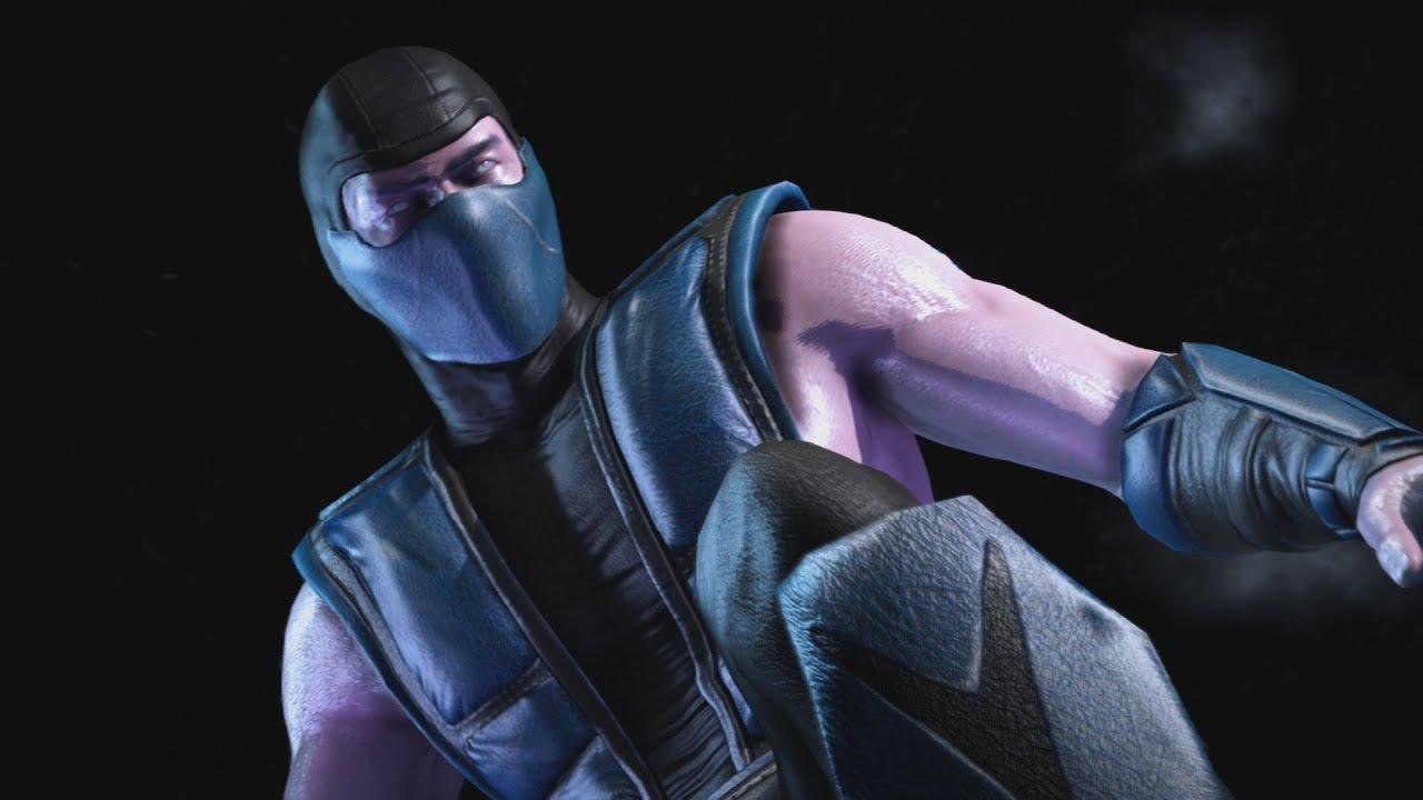 Mortal kombat x klassic sub zero costume skin 1080p 60fps